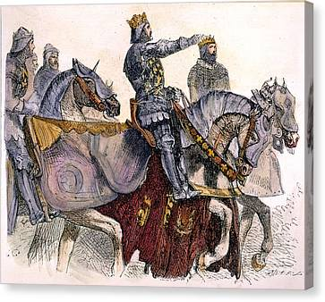 Shakespeare: King Henry Iv Canvas Print by Granger