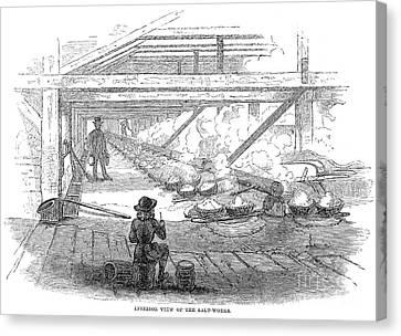 Slave Labor, 1857 Canvas Print by Granger