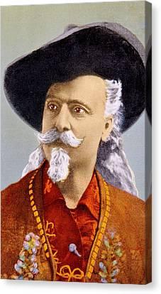 William F. Cody Aka Buffalo Bill Cody Canvas Print by Everett