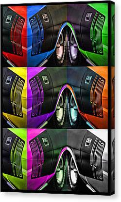 440 Cuda Billboard Pop Canvas Print by Gordon Dean II