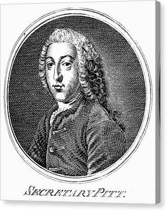 William Pitt (1708-1778) Canvas Print by Granger
