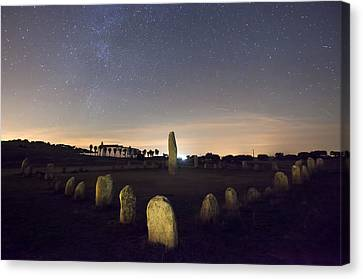 Xarez Cromlech Canvas Print by Andre Goncalves