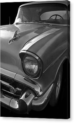 '57 Chevy Bel Air Canvas Print by Debra and Dave Vanderlaan