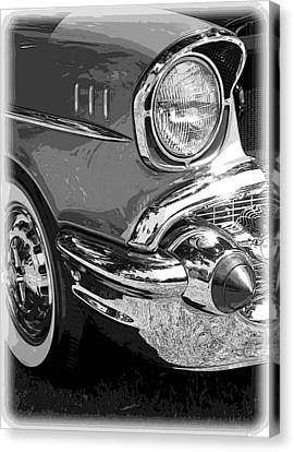 57 Chevy  Canvas Print by Steve McKinzie