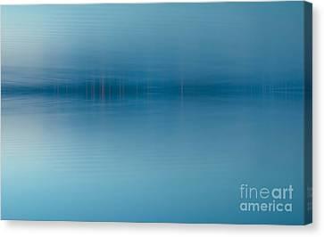 Blue Lake Canvas Print by Odon Czintos
