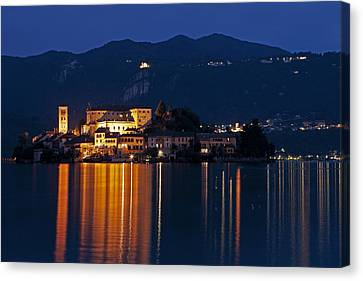 Island Of San Giulio Canvas Print by Joana Kruse