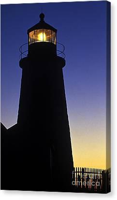 Pemaquid Point Lighthouse Canvas Print by John Greim