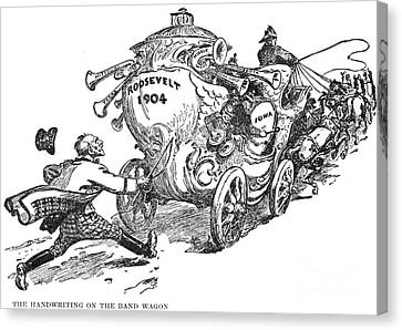 Presidential Campaign, 1904 Canvas Print by Granger