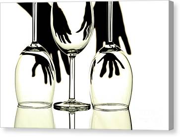 Wine Glasses  Canvas Print by Blink Images