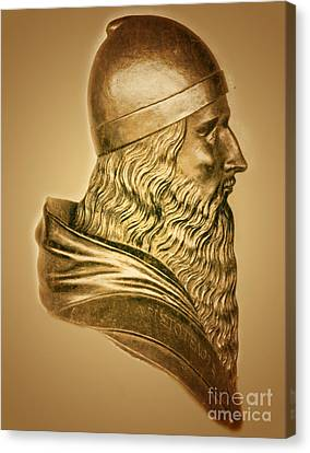 Aristotle, Ancient Greek Philosopher Canvas Print by Science Source