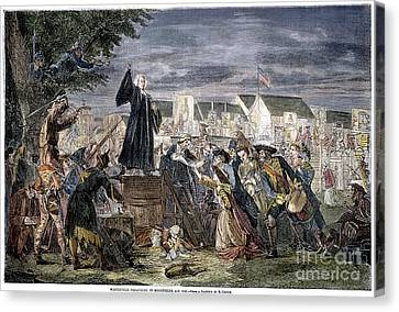 George Whitefield Canvas Print by Granger