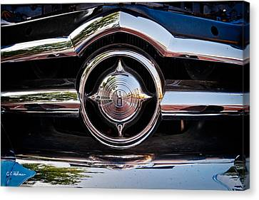 8 In Chrome Canvas Print by Christopher Holmes