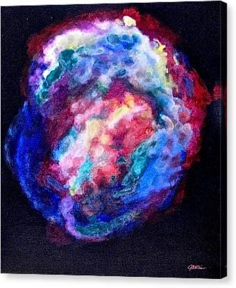 Remnants Of Kepler's Supernova Canvas Print by Jim Ellis