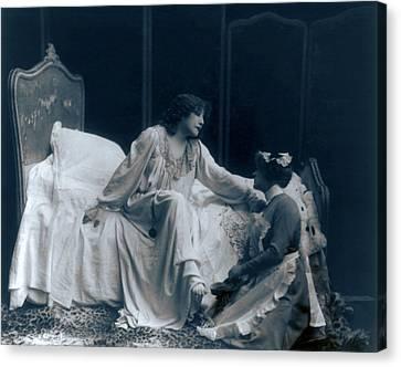 Sarah Bernhardt 1844-1923, French Canvas Print by Everett