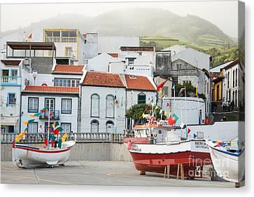 Vila Franca Do Campo Canvas Print by Gaspar Avila