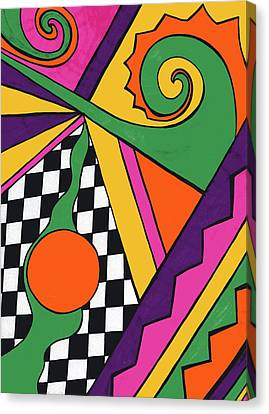 80's Glam Canvas Print by Mandy Shupp