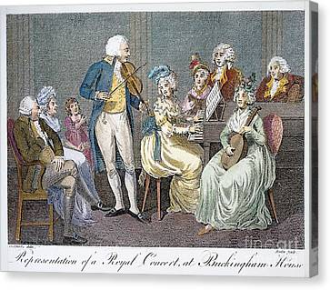 George IIi (1738-1820) Canvas Print by Granger