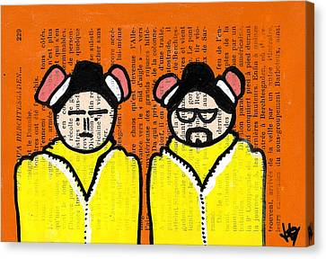 A Couple Of Cooks Canvas Print by Jera Sky