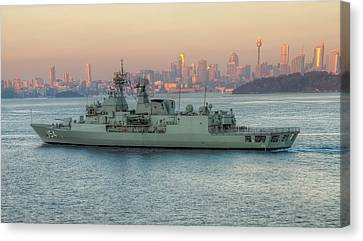 A Dawn Homecoming Canvas Print by Mark Lucey