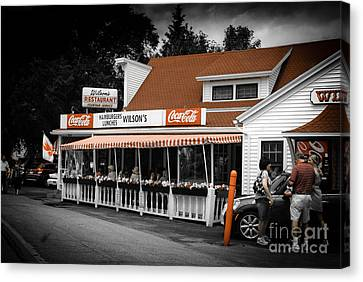 A Door County Institution Since 1906 Canvas Print by Mark David Zahn