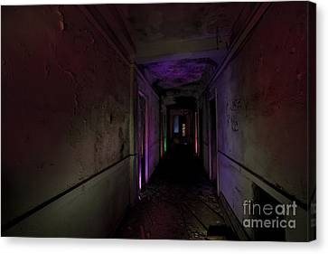 A Hallway To Nowhere Canvas Print by Keith Kapple
