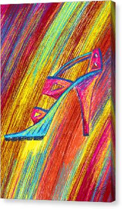 A High Heel Canvas Print by Pierre Louis