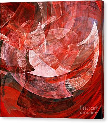 A Mothers Womb . Square . A120422.446 Canvas Print by Wingsdomain Art and Photography