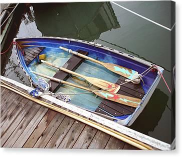 A Neat Boat Canvas Print by Hiroko Sakai