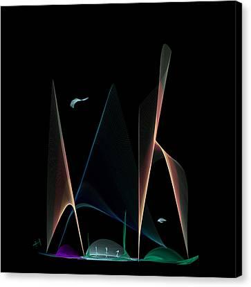 A New World Canvas Print by Hayrettin Karaerkek