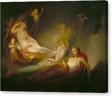 A Painter's Dream Canvas Print by Thomas Buchanan Read