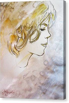 A Pure Being Canvas Print by Hitomi Osanai