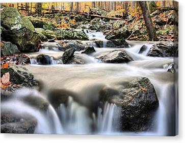 A Rocky Road Canvas Print by JC Findley