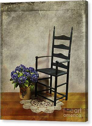 A Simpler Time Canvas Print by Judi Bagwell