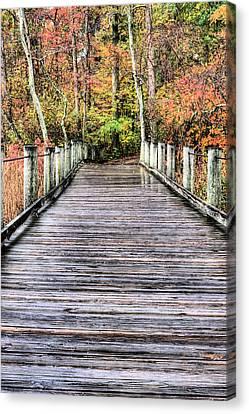 A Stroll Through Autumn Canvas Print by JC Findley