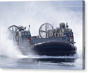 A U.s. Marine Corps Landing Craft Air Canvas Print by Stocktrek Images