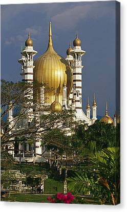 A View Of The Ubudiah Mosque Canvas Print by Steve Raymer