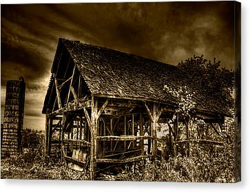 Abandoned And Forgotten Canvas Print by Rylan Beer