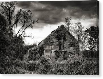 Abandoned Barn Canvas Print by Brenda Bryant