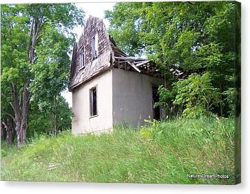 Abandoned Canvas Print by Lonni Jamieson