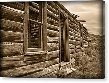Abandoned Canvas Print by Shane Bechler