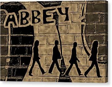 Abbey Canvas Print by ABA Studio Designs
