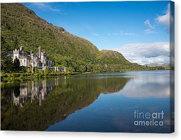 Abbey On The Lake Canvas Print by Andrew  Michael