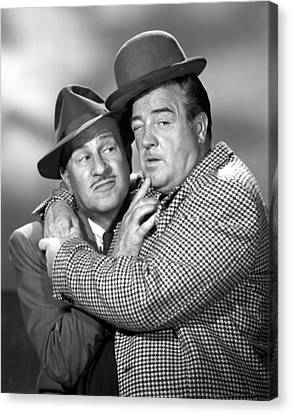 Abbott And Costello Show, The, Bud Canvas Print by Everett