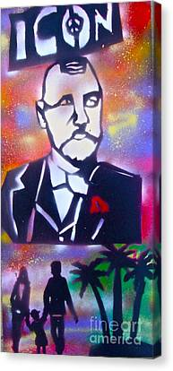 Abbott Kinney Canvas Print by Tony B Conscious