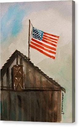 Above All Canvas Print by John Williams