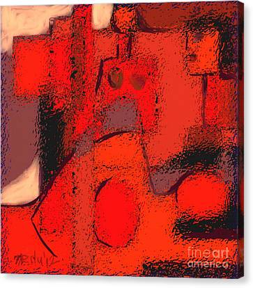 Abstract 463 Canvas Print by Nedunseralathan R