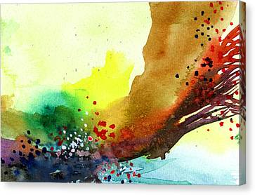Abstract 5 Canvas Print by Anil Nene