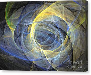 Abstract Art - Delightful Mood Of Abstracted Mind Canvas Print by Abstract art prints by Sipo