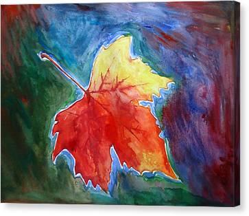 Abstract Autumn Canvas Print by Shakhenabat Kasana