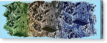 Abstract Fusion 160 Canvas Print by Will Borden